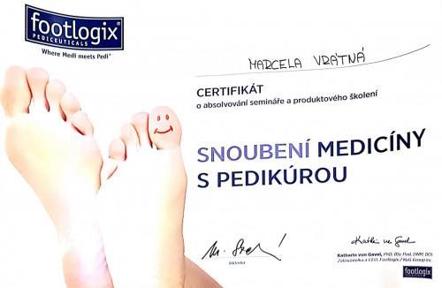 certifikát nohy 2